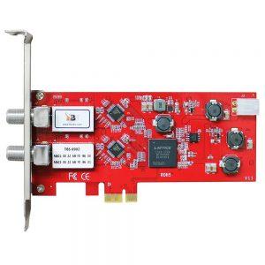 TBS6902 DVB-S2 Dual Tuner PCIe Card