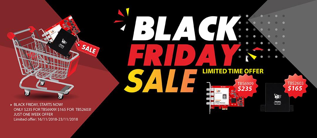 Black Friday Flash Sale IPTV Equipment – TBS Technologies Blog