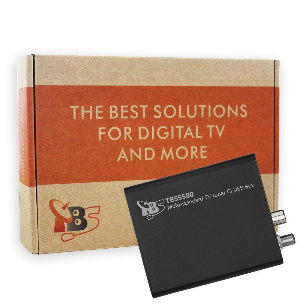 TBS5580 Multi standard Universal TV Tuner CI USB Box