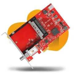 TBS6528 Multi Standard Tv Tuner CI PCI-e Card