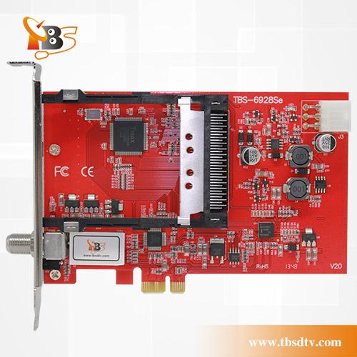 TBS6928SE PCIe DVB-S2 TV Tuner Card with CI and CAM