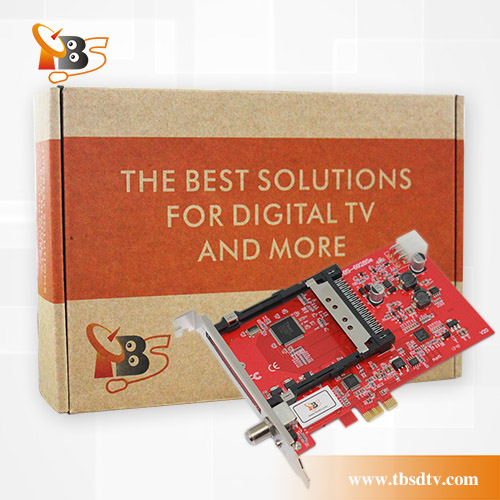 TBS6928SE PCIe DVB-S2 TV Tuner Card with CI and CAM